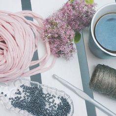 handmade, crocheting, project