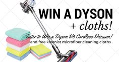 Kleenist - Win a Dyson V6 Cordless Vacuum - http://sweepstakesden.com/kleenist-win-a-dyson-v6-cordless-vacuum/