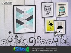 SIMcredible!'s Young Way Living Painting