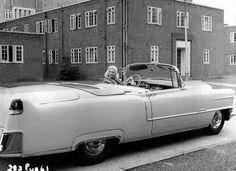 Diana Dors -- 1955 Cadillac
