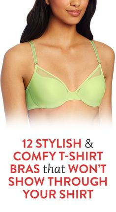 12 Stylish and Comfy T-Shirt Bras That Won't Show Through Your Shirt