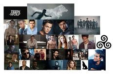 """""""Teen Wolf Characters"""" by lucy3107 ❤ liked on Polyvore featuring art and TeenWolf"""