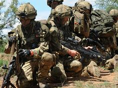 The 4th Battalion The Rifles (4 RIFLES) is currently in Kenya undergoing intensive training to be the British ArmyÕs next Spearhead Lead Element - a rapid response force ready to tackle a world-wide crisis at 24 hours notice. This can range from a major domestic terrorist attack to the evacuation of British nationals overseas