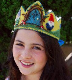 etsy wool waldorf crowns - Google Search