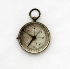 1940s Brass Compass Pendant / Vintage WWII by TheCompassCollector, €69.90