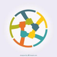 teamwork vector results - ImageSearch Logo Psd, Logo Branding, Startup Branding, Ideas Para Logos, Logo Mano, Adobe Illustrator, Unity Logo, Teamwork Logo, Connect Logo