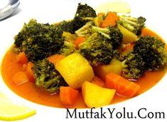 Zeytinyağlı Brokoli Tarifi Sebze yemekleri – The Most Practical and Easy Recipes Vegetable Dishes, Vegetable Recipes, Turkish Recipes, Ethnic Recipes, Homemade Beauty Products, I Foods, Broccoli, Curry, Health Fitness