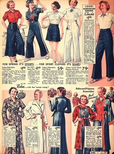 Sears catalog, 1937.....almost the 40s!