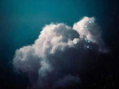 Intrépide No. 2 | Cloud Painting by Corinne Melanie Art