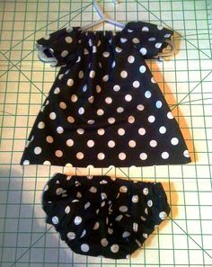 Bella Bama: Newborn Peasant Dress w/FREE Pattern Link