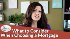 Choosing a mortgage can be tricky and most of us focus only on getting the lowest interest rate. There several other factors to take into consideration when . Consideration, Factors, Videos, Video Clip