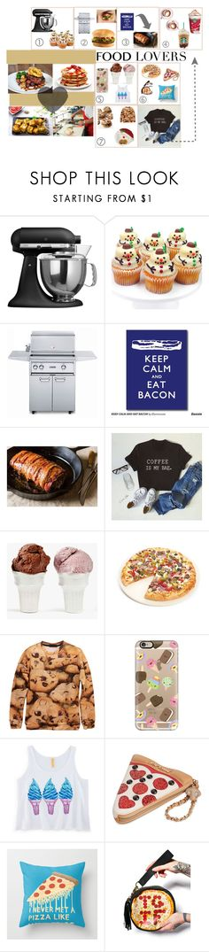 """Food Lovers"" by omg-its-katie ❤ liked on Polyvore featuring interior, interiors, interior design, home, home decor, interior decorating, KitchenAid, Lynx, Martha Stewart and Sin"