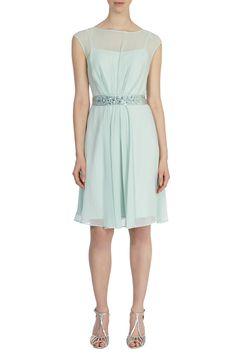 Bridesmaid Dresses | Greens LORI LEE SHORT DRESS | Coast Stores Limited