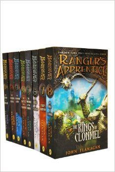 Rangers Apprentice Series by John Flanagan (these books are a big deal in this house!)