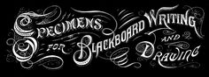 *The Graphics Fairy LLC*: Vintage Typography - Amazing Chalkboard Text