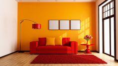 El color naranja en la decoración de tu casa - http://www.decoora.com/el-color-naranja-en-la-decoracion-de-tu-casa/