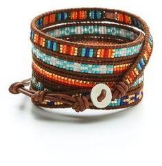 Chan Luu Beaded Wrap Bracelet Style Women