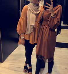 Pinterest: @adarkurdish Modest Fashion Hijab, Hijab Fashion Summer, Casual Hijab Outfit, Hijab Chic, Muslim Fashion, Modest Outfits, Modest Wear, Casual Outfits, Fashion Dresses