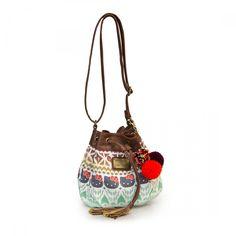 Hello Kitty Boho Ikat Bucket Crossbody Bag - Hello Kitty - Brands