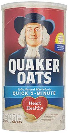 Quaker Quick Oats Large  42 oz * Click image for more details. (Note:Amazon affiliate link) #HealthySnacks