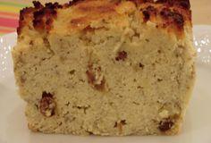 Cake aux bananes, raisins secs et rhum sans gluten et sans lactose