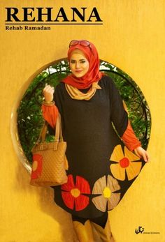 Rehanna hijab fashion for winter 2015 | Just Trendy Girls