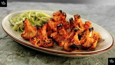 In this video, we will cook together Tandoori Gobi, which is a very popular tikka recipe, made similarly to Tandoori Chicken, and Paneer. This Cauliflower Re. Vegetarian Recepies, Veggie Recipes, Indian Food Recipes, Ethnic Recipes, Easy Recipes, Diet Recipes, Cooking Recipes, Tandoori Paneer, Tandoori Chicken