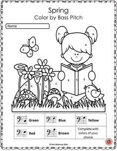 Music worksheets! Th