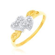 Bague Femme - Coeur - Or jaune (9 carats) 1.89 Gr - Diamant - T 53 Bijoux pour tous http://www.amazon.fr/dp/B000Y2RE08/ref=cm_sw_r_pi_dp_Rs16vb1PT1RQC