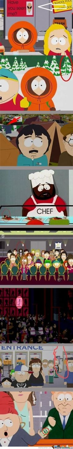 Aliens found in South Park #meme