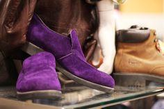 Purple #shoes @ Beyond Retro