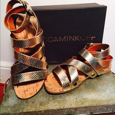 Rebecca Minkoff Sandals in Box Brand new Rebecca Minkoff Tristen sandals in original box Rebecca Minkoff Shoes Sandals