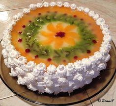 Tort diplomat pe blat de biscuiti – Sa Gatim cu Gina Cheesecakes, Punch Bowls, Deserts, Pudding, Baking, Easy, Food, Sweets, Desserts