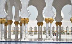 Sheik Zayed Mosque, Abu Dhabi, Emirados Árabes Unidos