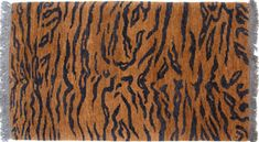 I absolutely LOVE these Tibetan tiger rugs!!