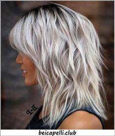 80 tagli di capelli di media lunghezza sensazionale per capelli spessi 46a62ad799a8