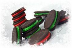 Winter Oreos, gluten free cookies, gluten free desserts, gluten free christmas recipes, gluten free christmas cookies