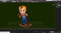 Farmville 2 3ds Max Character and Animation Pipeline