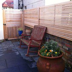 Brise-vue panneau / en bois - WESTERN RED - Silva Timber Products