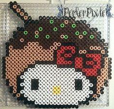 Takoyaki Hello Kitty by PerlerPixie on DeviantArt