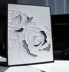 Unique techniques with a Cuttlebug (or a Big Shot or other embossing/die-cut machine) This is a Simple card, no fancy tricks (detai...