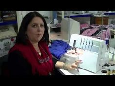Margaret from Sewing Machine Warehouse Australia will guide you in using your Overlocker / Serger to handle corners and curves in your sewing projects. Sewing Class, Sewing Basics, Sewing Hacks, Sewing Tutorials, Tutorial Sewing, Sewing Tips, Sewing Ideas, Serger Projects, Sewing Projects