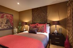 Balinese Style Bedroom Design, Pictures, Remodel, Decor and Ideas