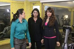 CID: Purvi, Shreya and Bipasha Basu.