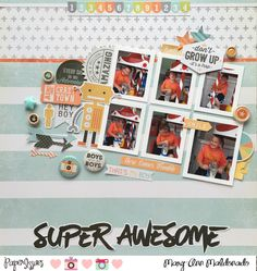 Super Awesome - Scrapbook.com