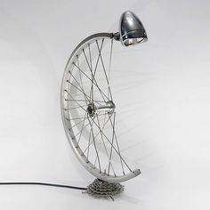 New life for the old bicycle - 25 upcycling ideas with bicycle parts