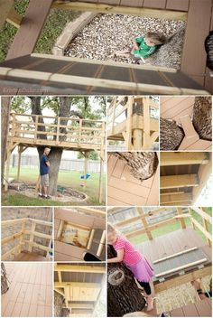 Want to Make a Treehouse? • Awesome DIY Treehouse Projects and Tutorials! Including this treehouse project from 'kristen duke & family'.