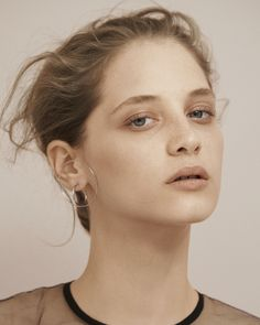 Publication: Vogue Germany January 2016 Model: Melina Gesto Photographer: Julia Noni Fashion Editor: Kathrin Schiffner Hair: Christian Eberhard Make-up: Lili Choi