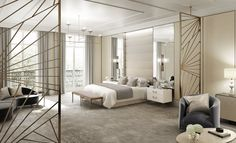 - BradyWilliams specialise in luxury interior design for the hospitality, retail and residential sectors. Visit us now or contact us on 020 7580 Luxury Interior Design, Luxury Apartments, White Walls, Furniture Design, Sweet Home, Bedroom Decor, Chelsea London, House, Guest Rooms