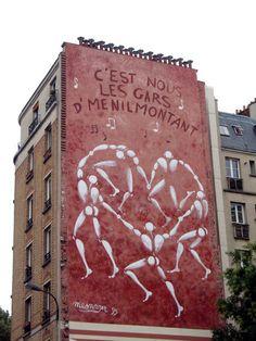 street art & graffiti Paris : Mesnager